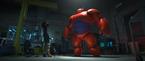 Film still from the animated film Big Hero 6