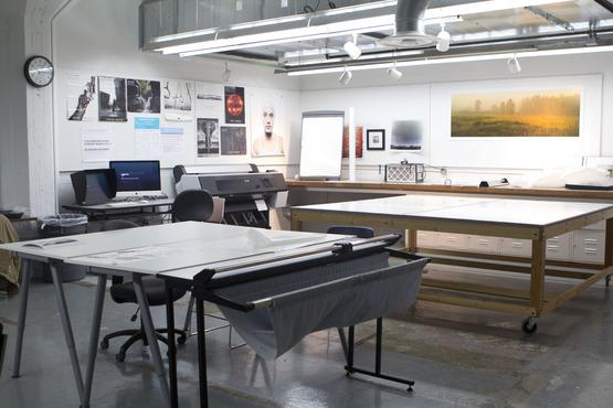 The photography studio