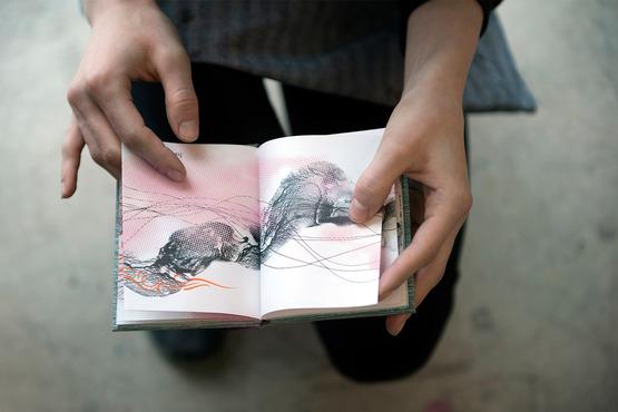 A handmade artist book