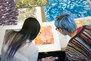 Image of printmaking students