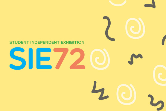 2018 Student Independent Exhibition promotional graphic