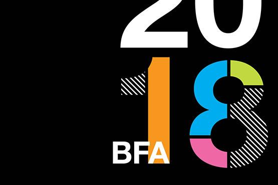 2018 BFA promotional graphic