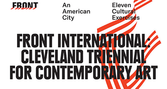 FRONT International Cleveland Triennial for Contemporary Art graphic