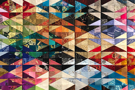 Quilt by faculty member Petra Soesemann