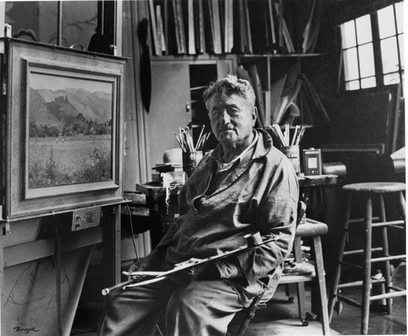 portrait of Abe Warshawsky