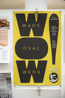 An example of a poster created in the Graphic Design class.
