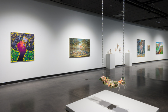 Gallery view of Getting to Know You exhibition