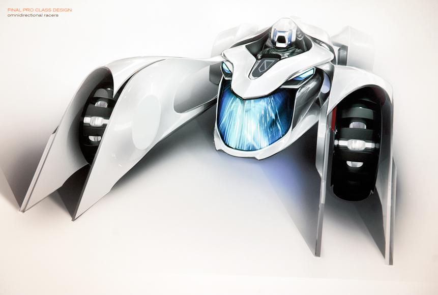 Industrial design student art work by Aaron Riggs