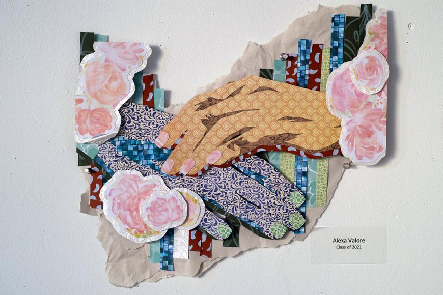 Foundation student work by Alexa Valore