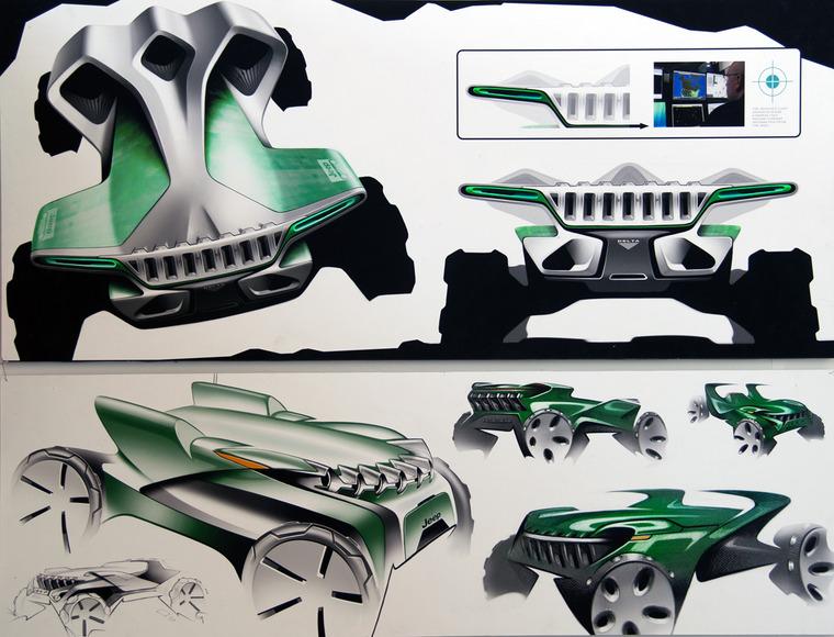 Industrial Design student work by Chris Mikalauskas