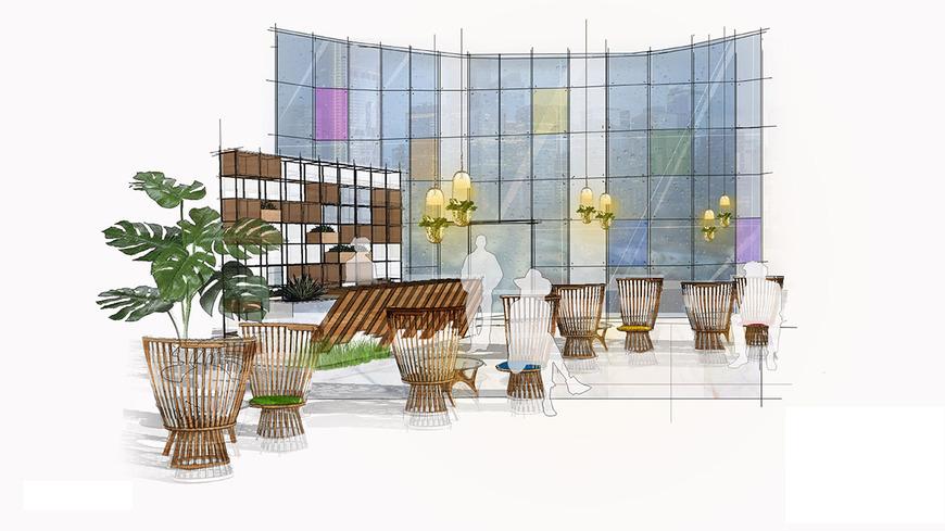 Interior Architecture student work by Isabel Nie