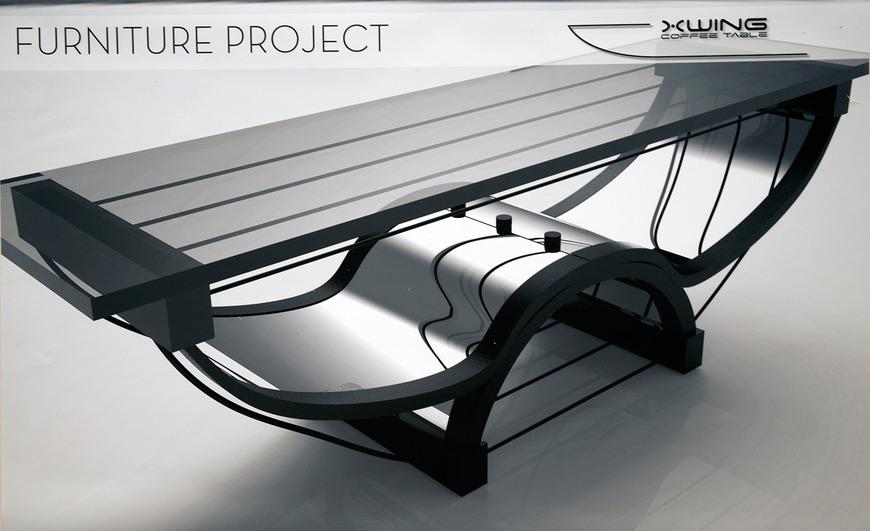 Industrial design student art work by Jeff Forsythe