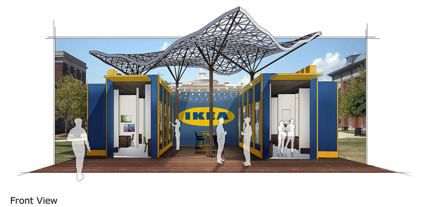 Interior Architecture student work by Keanu Peskar