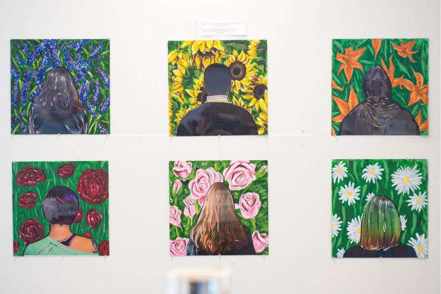 Foundation student work by Kyla Watson