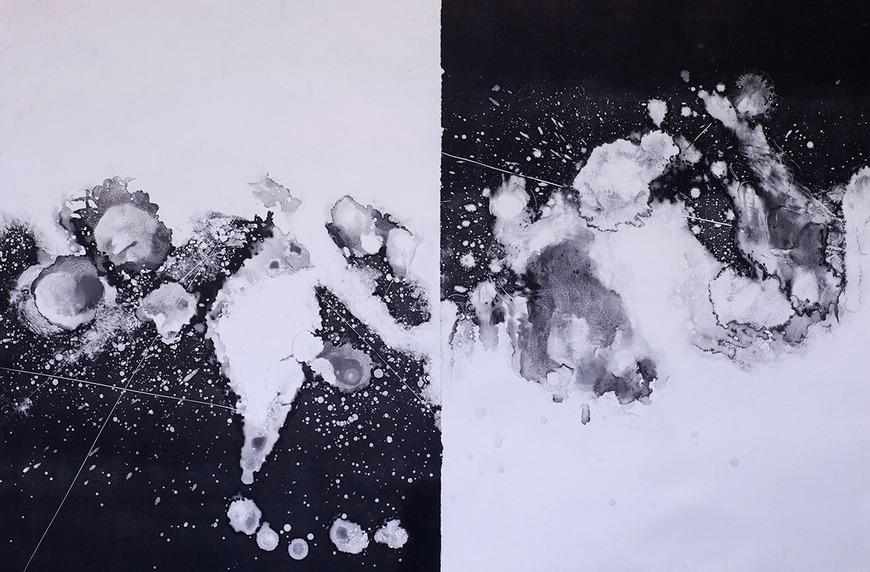 Printmaking student work by Michael Lombardi