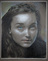 An example of a student's portrait from the Foundation in Drawing class.